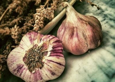 Garlic for the common cold